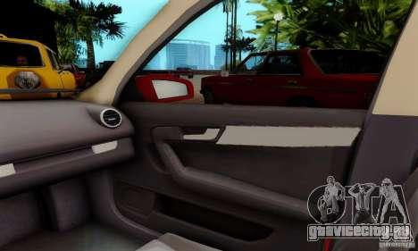 Audi A3 Sportback 3.2 Quattro для GTA San Andreas вид сзади