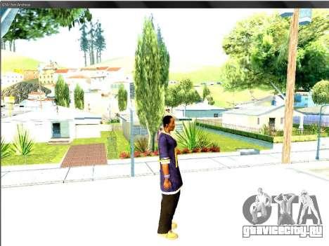 Snoop DoG в F.B.I. для GTA San Andreas четвёртый скриншот