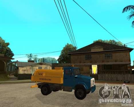Зил-433362 Extra Pack 2 для GTA San Andreas вид сбоку