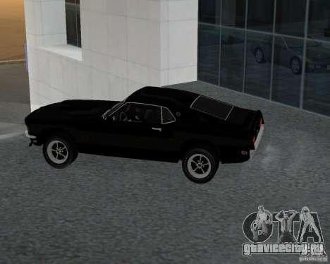 Ford Mustang Boss 1969 для GTA San Andreas вид слева