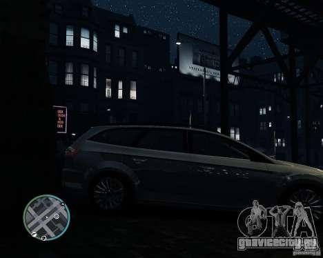 Ford Mondeo Mk4 для GTA 4 вид справа