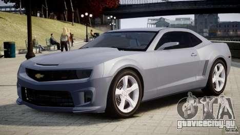 Chevrolet Camaro SS 2009 v2.0 для GTA 4 вид сбоку