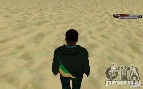 Drug Dealer HD Skin для GTA San Andreas четвёртый скриншот