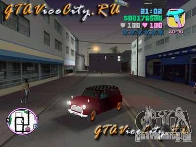 Austin Mini v1.1 для GTA Vice City