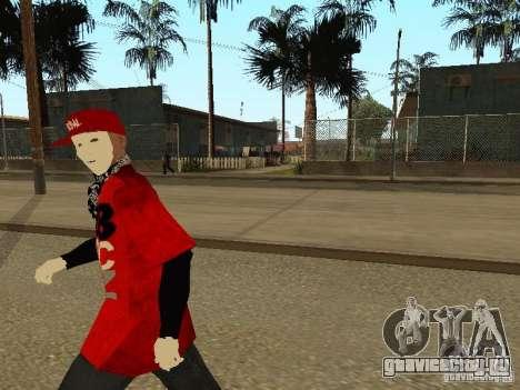 JabbaWockeeZ Skin для GTA San Andreas четвёртый скриншот