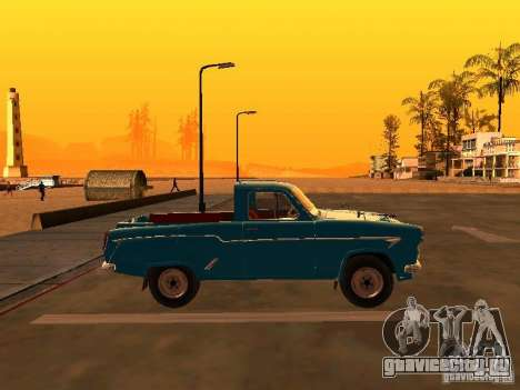 Москвич 407 Пикап для GTA San Andreas вид слева