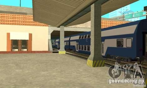 Vagon CFR класса 26-16 Beem для GTA San Andreas вид сзади слева