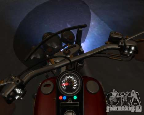 Harley-Davidson Fat Boy Lo (Vintage final) для GTA 4 вид слева