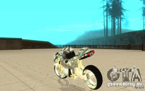 New NRG Chrome version для GTA San Andreas вид сзади слева