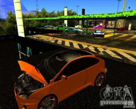 Ford Focus ST Racing Edition для GTA San Andreas вид справа
