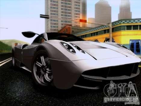 Pagani Huayra 2011 для GTA San Andreas вид сзади слева