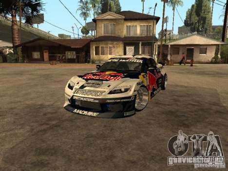 Mazda RX-8 RedBull для GTA San Andreas