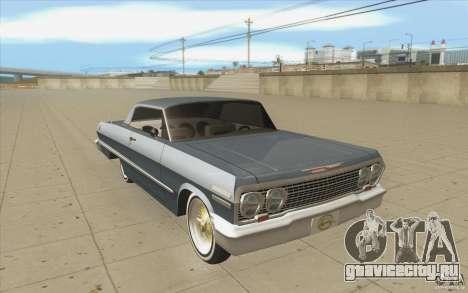 Voodoo для GTA San Andreas вид сзади