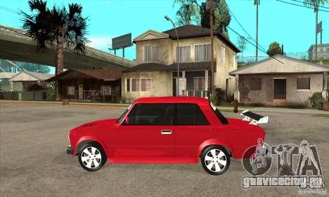 ВАЗ 2101 2-ух дверное купе для GTA San Andreas вид слева