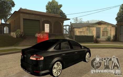 Ford Mondeo 2009 для GTA San Andreas вид справа
