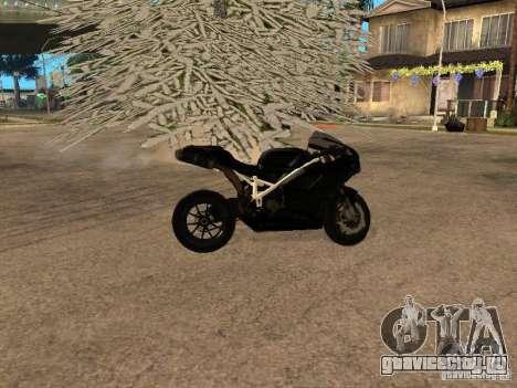 Ducati RS09 для GTA San Andreas вид сзади слева