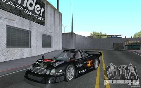 Mercedes-Benz CLK GTR road version (v2.0.0) для GTA San Andreas