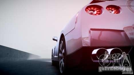 Nissan GT-R R35 V1.2 2010 для GTA 4 вид сверху