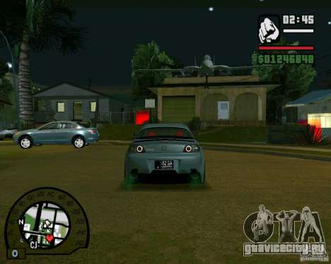 Mazda RX8 JDM Style для GTA San Andreas вид справа