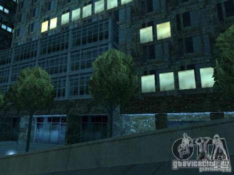 Новые текстуры небоскрёбов LS для GTA San Andreas девятый скриншот