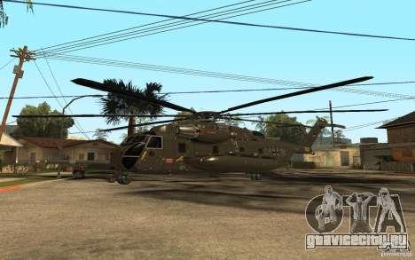 CH 53 для GTA San Andreas вид сзади