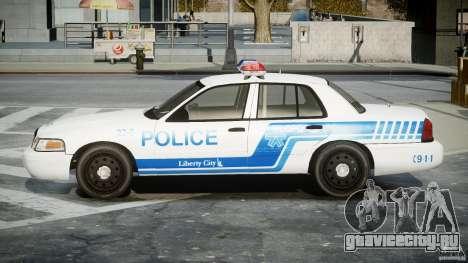 Ford Crown Victoria CVPI-V4.4M [ELS] для GTA 4 вид слева