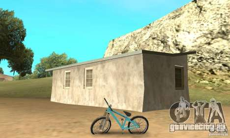 Dirt Jump Bike для GTA San Andreas вид сзади слева