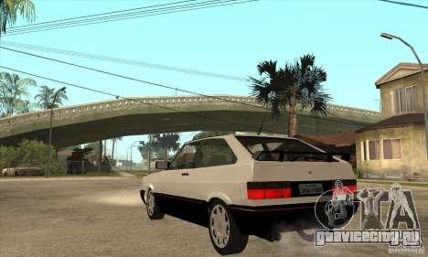 VW Gol GTS 1989 для GTA San Andreas вид сзади слева