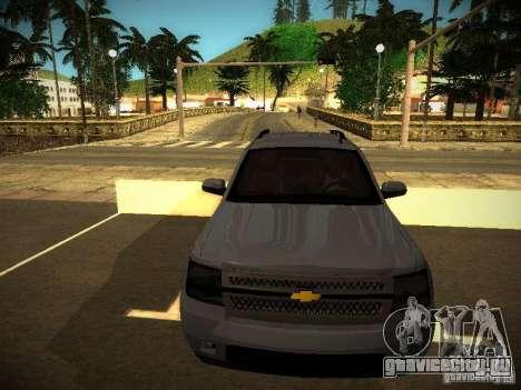 Chevrolet Tahoe HD Rimz для GTA San Andreas вид слева