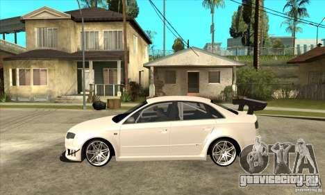 Audi RS4 2006 для GTA San Andreas вид слева