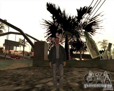 Белые Грувы для GTA San Andreas второй скриншот