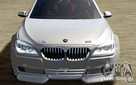 Меню и экраны загрузки BMW HAMANN в GTA 4 для GTA San Andreas одинадцатый скриншот