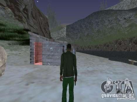 Подводные монстры для GTA San Andreas