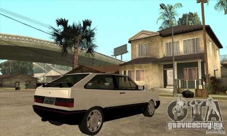 VW Gol GTS 1989 для GTA San Andreas вид справа