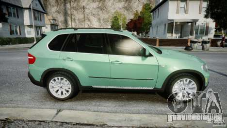 BMW X5 Experience Version 2009 Wheels 223M для GTA 4 вид сбоку