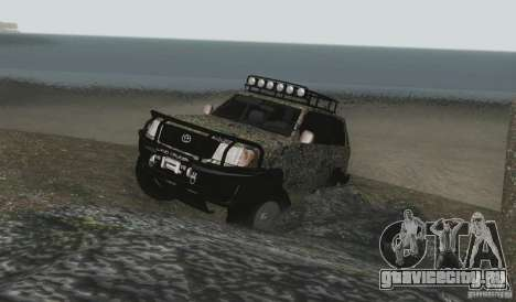 Toyota Land Cruiser 100 Off Road для GTA San Andreas вид сбоку