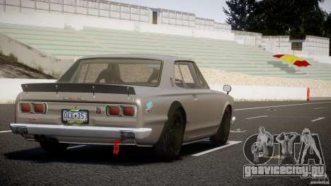 Nissan Skyline Hakosuka (KPGC10) Mountain Drift для GTA 4