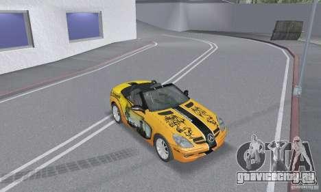 Mercedes-Benz SLK 350 для GTA San Andreas колёса