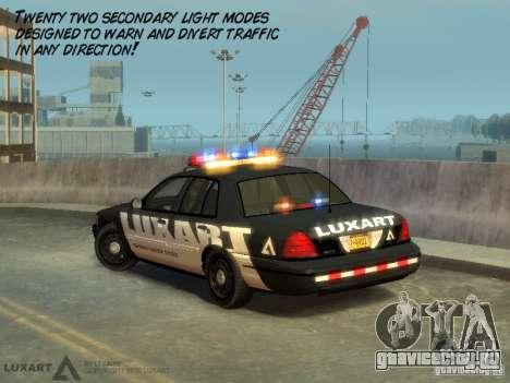 EMERGENCY LIGHTING SYSTEM V6 для GTA 4 пятый скриншот