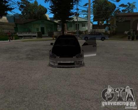Subaru Impreza (exclusive) для GTA San Andreas вид справа