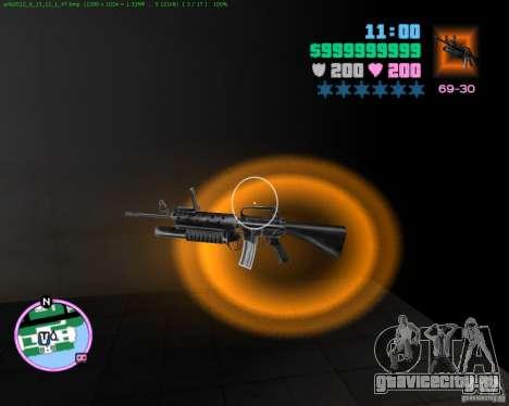 М-16 из Scarface для GTA Vice City