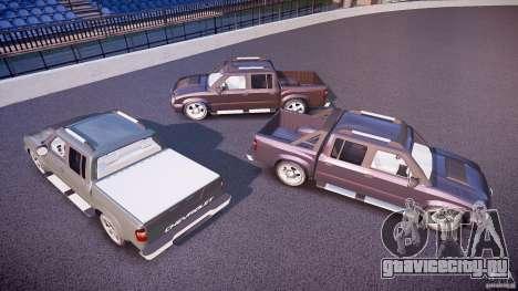 Chevrolet S10 для GTA 4 колёса
