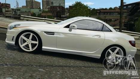 Mercedes-Benz SLK 2012 v1.0 [RIV] для GTA 4 вид слева