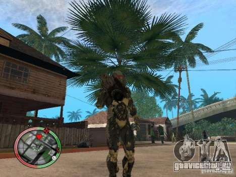 Оружие alien из Crysis 2 v2 для GTA San Andreas третий скриншот