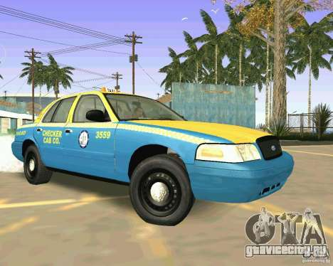 Ford Crown Victoria 2003 Taxi Cab для GTA San Andreas