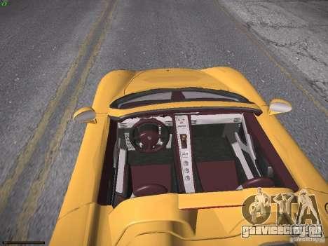 Porsche Carrera GT для GTA San Andreas вид справа