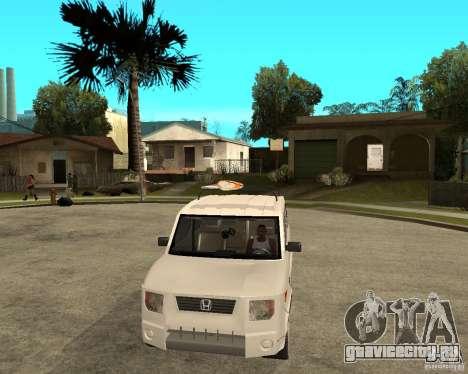 Honda Element для GTA San Andreas вид сзади
