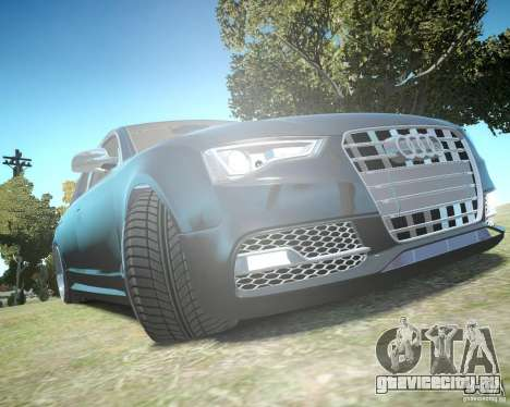 Audi A6 Avant Stanced для GTA 4 вид сверху