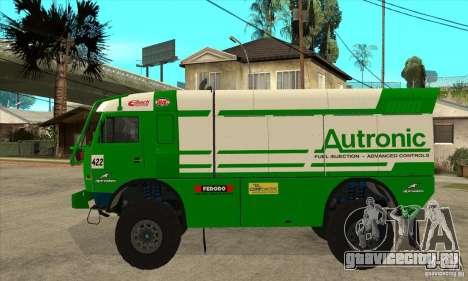КамАЗ 4911 Rally МАСТЕР для GTA San Andreas вид справа