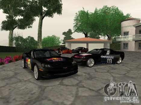 Chevrolet Corvette (C6) для GTA San Andreas вид сбоку